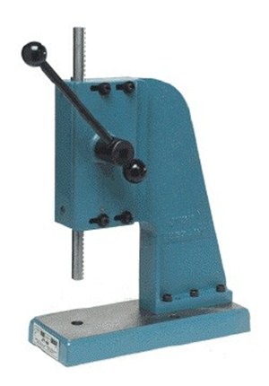 1 Ton Manual Arbor Press from Janesville Tool