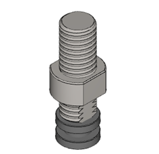 .5 X 1.5 inch tooling adapter for Arbor Press