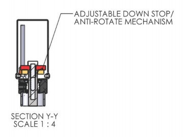 Adjustable Down Stop for A-0019 Pneumatic Arbor Press