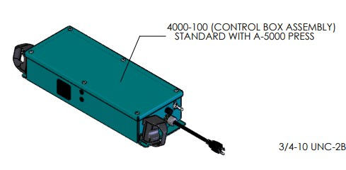 Control Box for A-5302 Pneumatic Arbor Press