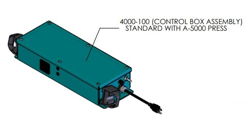 Control Box for A-5453 Pneumatic Arbor Press