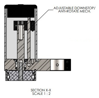 Adjustable Down Stop for EC-66 Pneumatic Arbor Press
