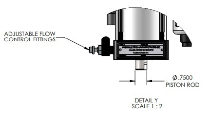 EC-66 Economy Series Pneumatic Press Dimensions