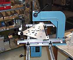 Manual Press Tooled for Customer Application